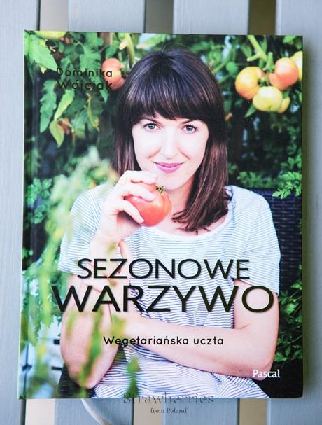 książka Dominiki Wójciak Sezonowe Warzywo