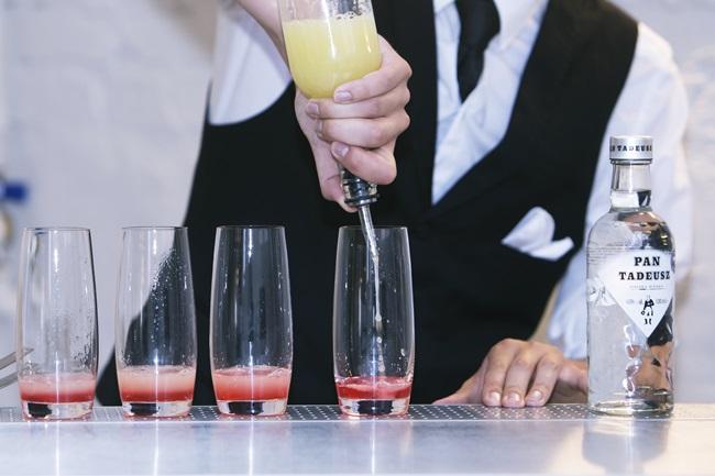 drink z rabarbaru z polską wódką Pan tadeusz