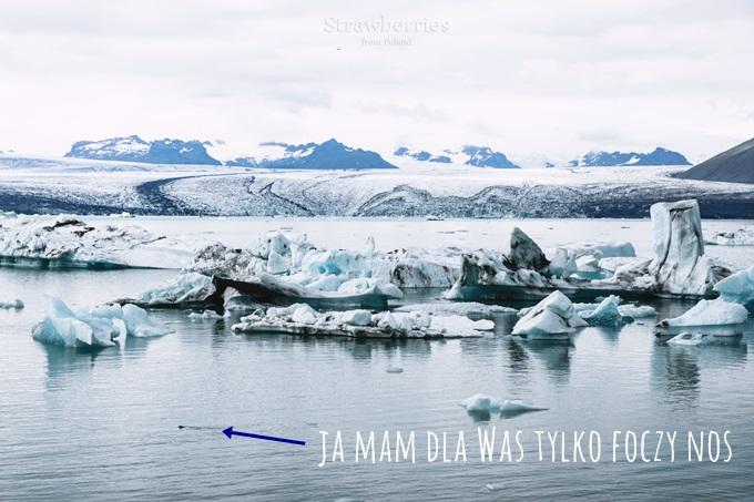 lodowiec iceberg Jökulsárlón
