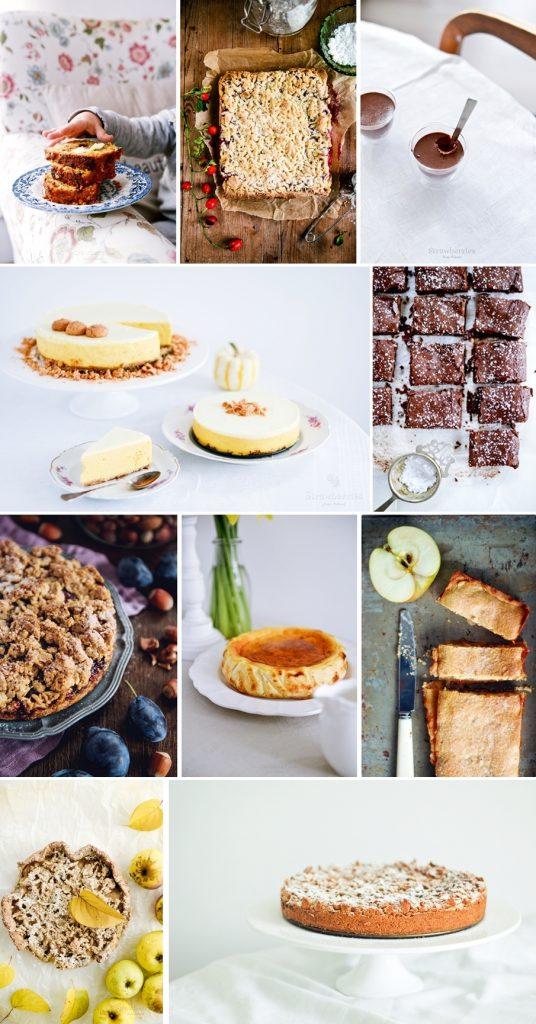 jesienne desery - pomysły na ciasta
