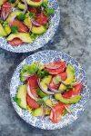 sałatka z grejpfrutem