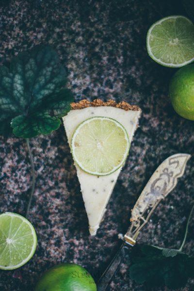 Tarta limonkowa - key lime pie