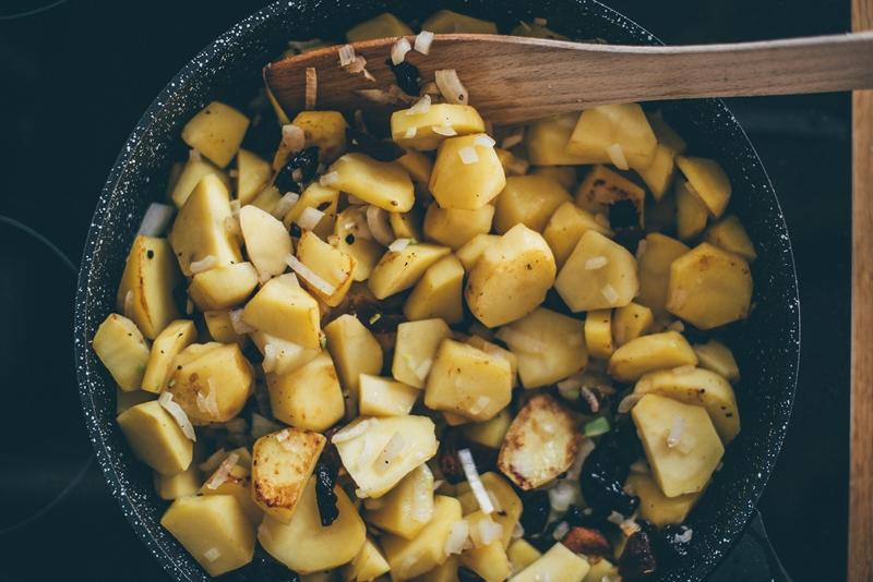 DUSZONE ziemniaki